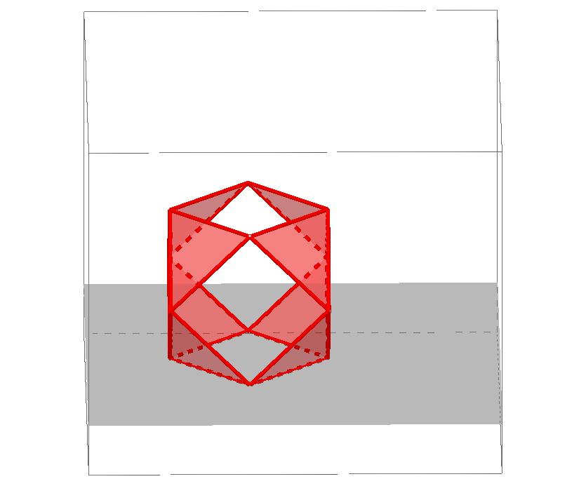Construcción del Cuboctaedro