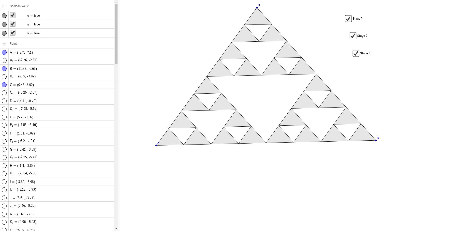 Worksheets Sierpinski Triangle Worksheet 8 4 sierpinski triangle geogebra