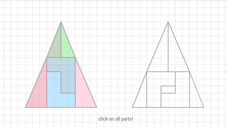 isosceles triangle paradox