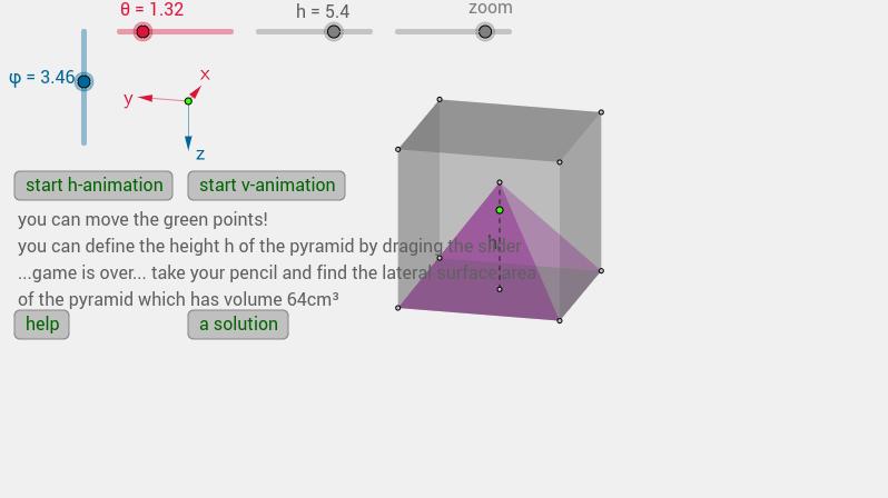 a pyramid inside a cube-1