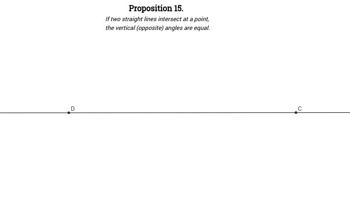 Elements I: Proposition 15