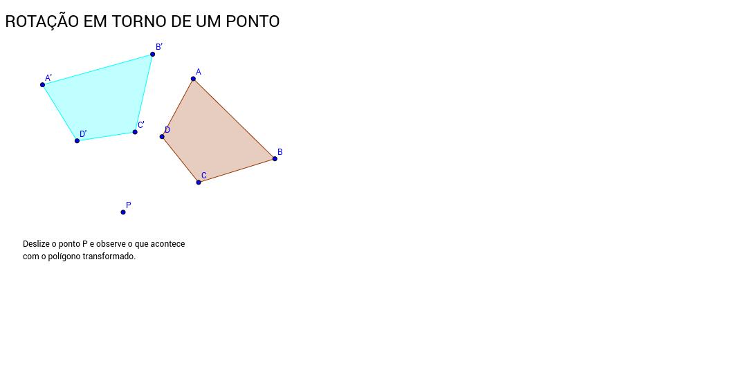 ROTAÇÃO EM TORNO DE UM PONTO