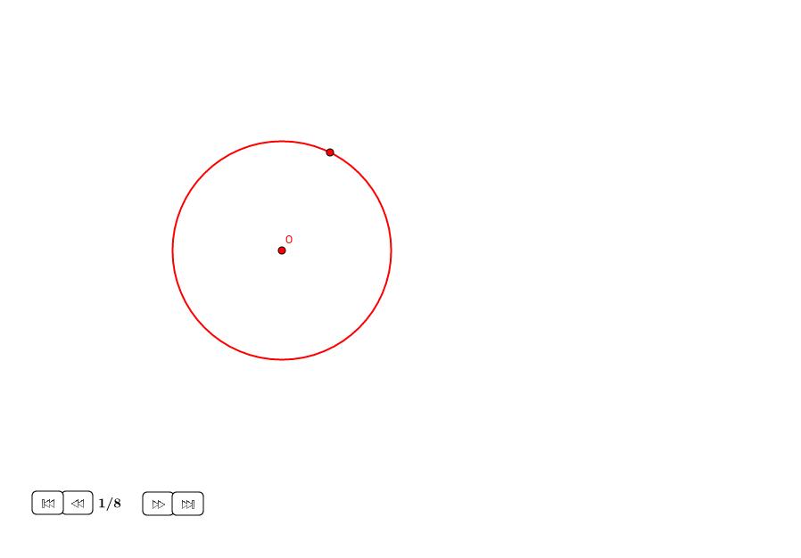 Tangente a un círculo