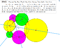 Eight circles problem