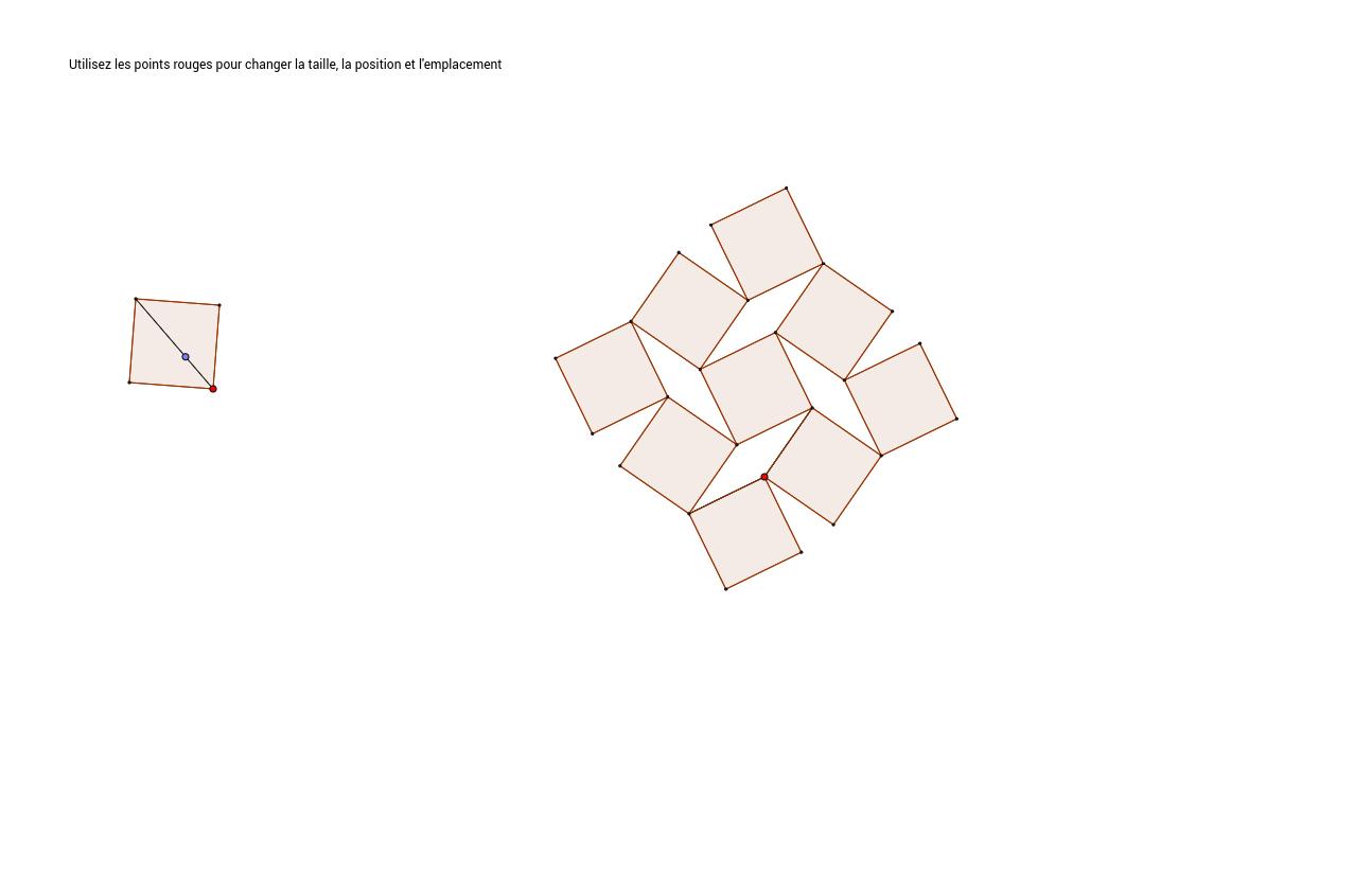 Wobbling squares