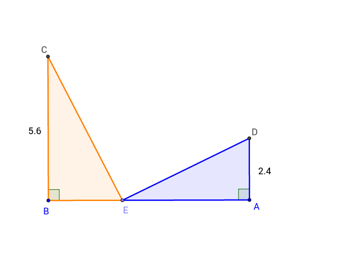 Deux triangles
