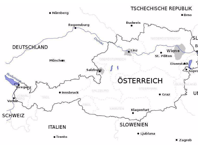 Merkwürdige Punkte - Rund um Österreich
