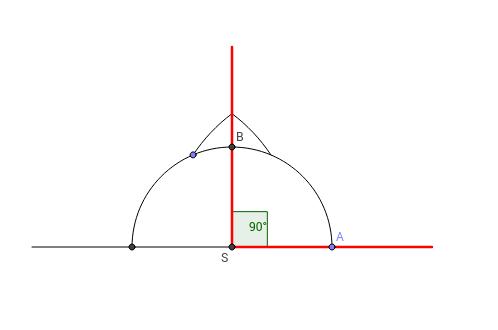 Angle 90 degrees