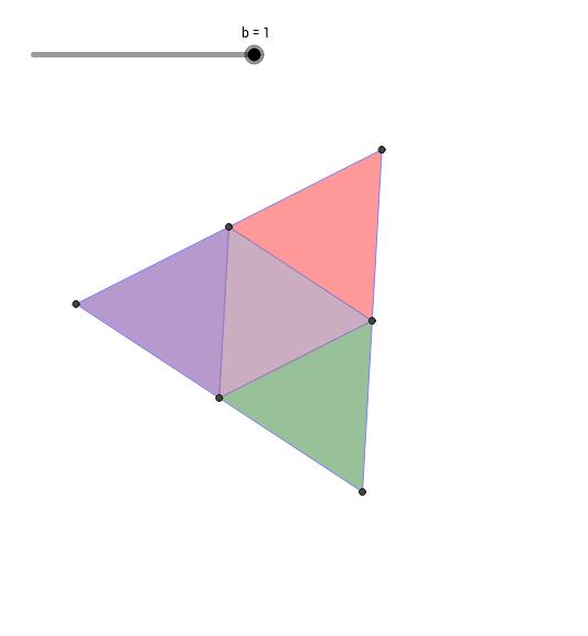 Tétraèdre régulier (Développement et Mouvements)