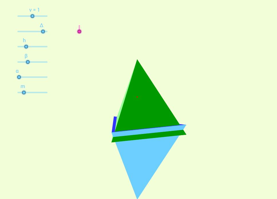 Two pyramids
