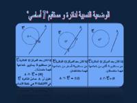 الوضعية النسبية لدائرة و مستقيم- 7 أساسي-.pdf