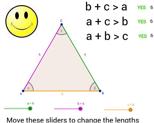 Triangle Inequality Theorem GeoGebra – Triangle Inequality Theorem Worksheet