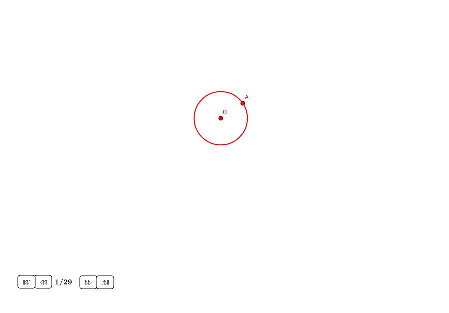 Espiral de Arquímedes aproximada (II)