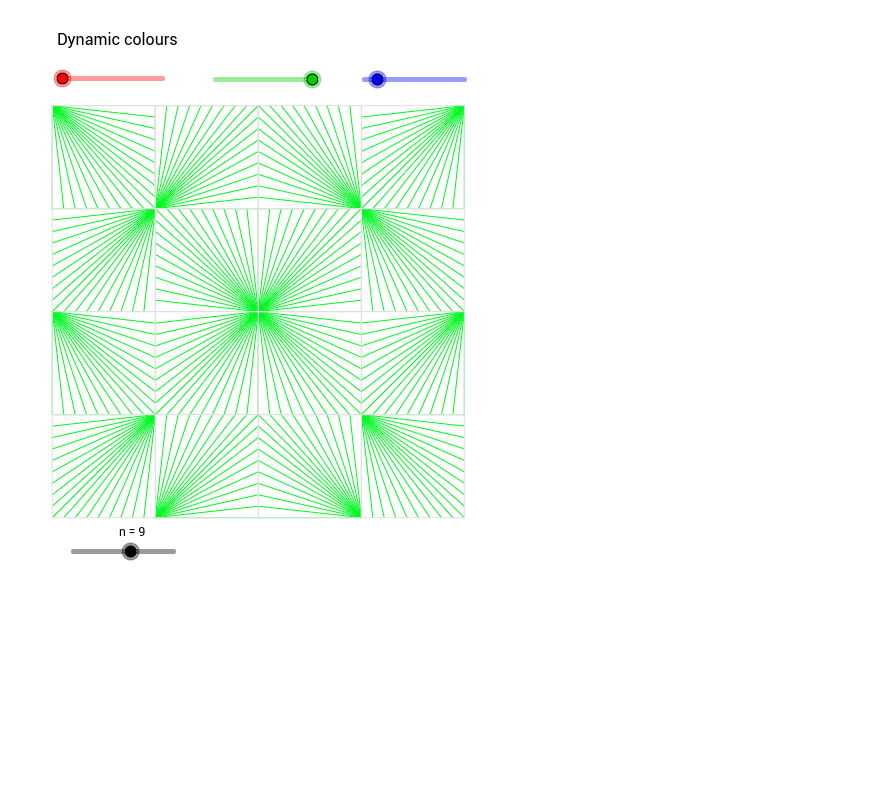 String art tessellation