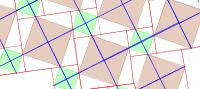 Pythagorean Tessellation # 43 Tiling