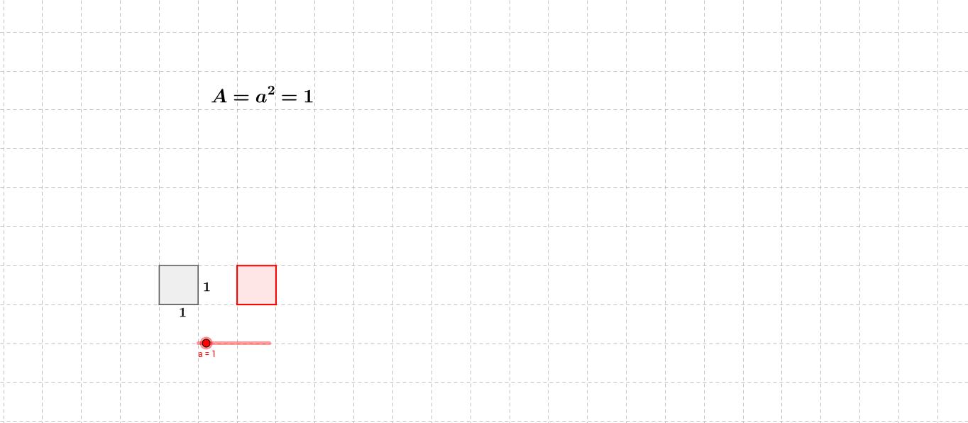 Kvadrat med linjestykke a