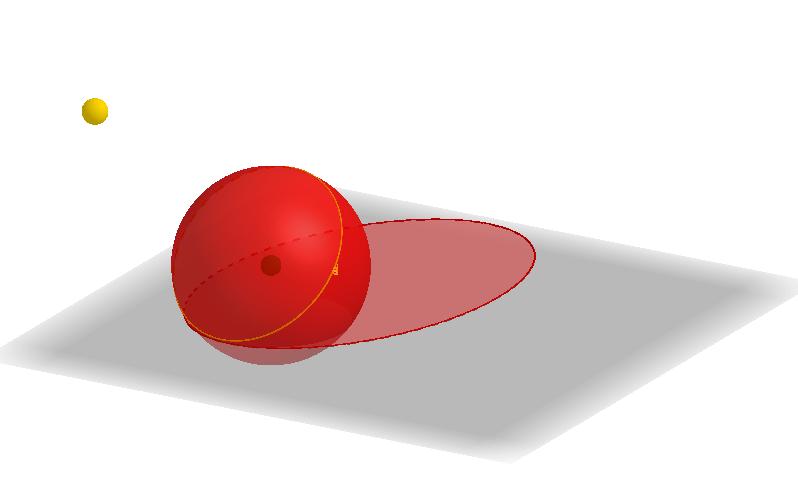 Ombra di una sfera