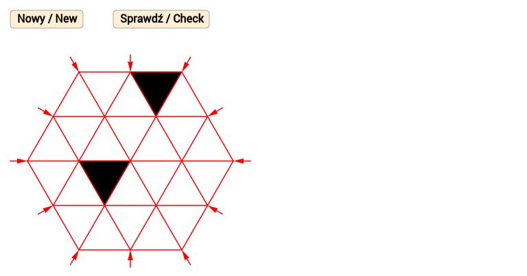 Sześciokątny wzór 4 / Hexagonal pattern 4