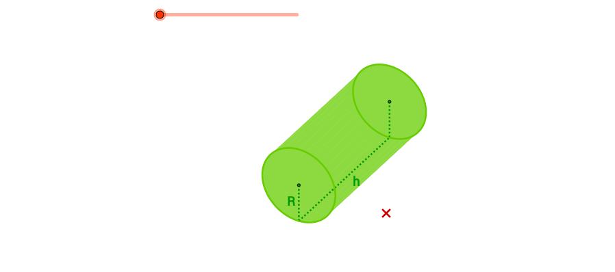 Desenvolupament pla d'un cilindre