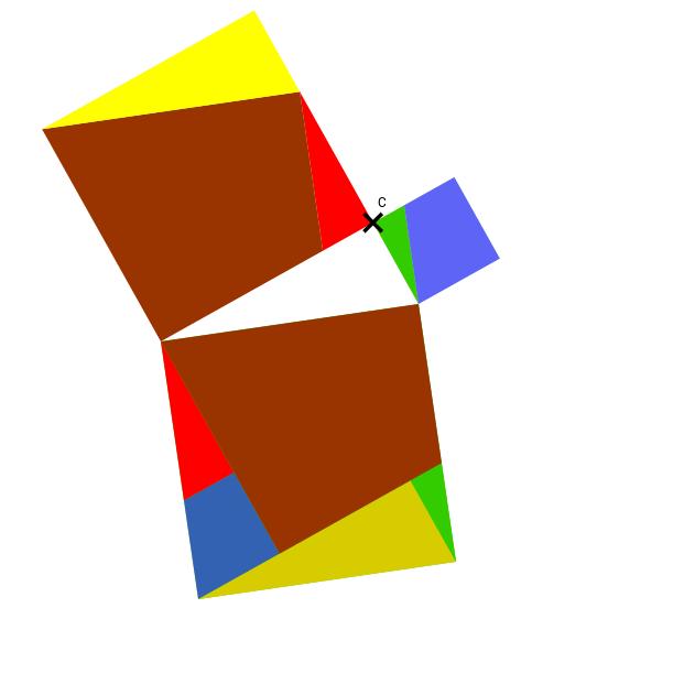 Wordless Pythagorean Theorem based on Translations