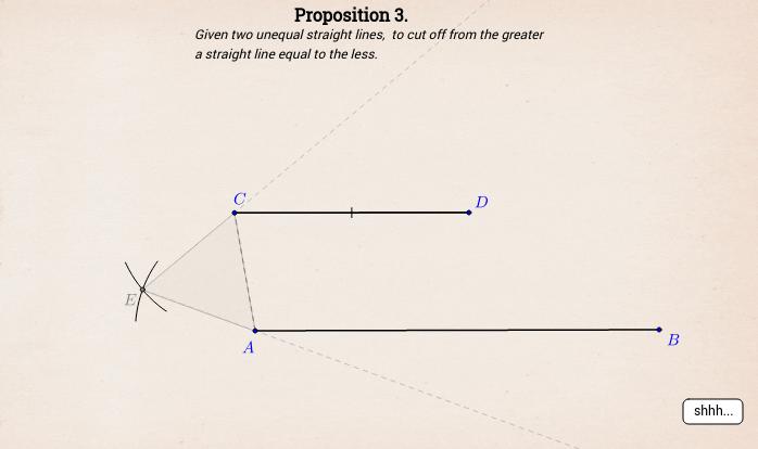 Elements I: Proposition 3