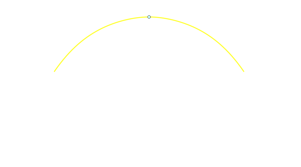Ponte Morandi: curva originale