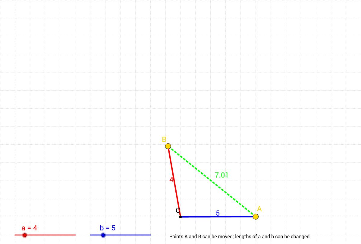 Triangle inequality