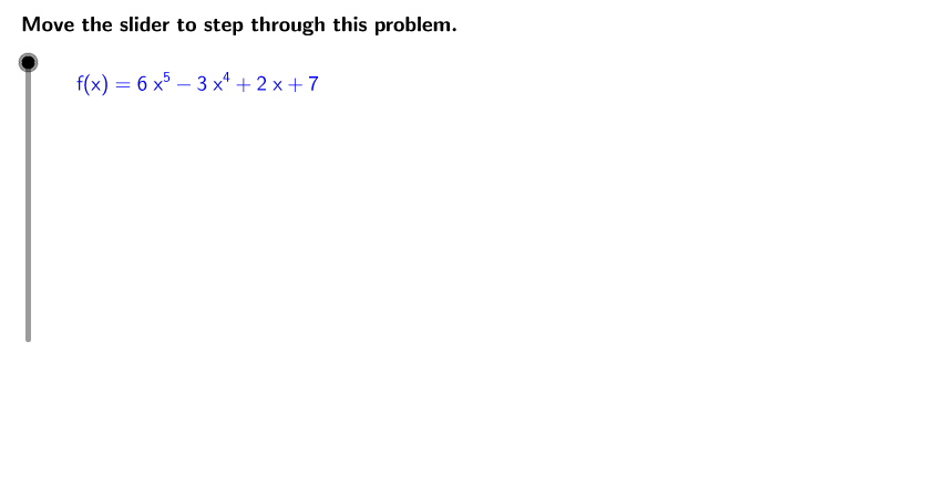 UCSS Math III 2A.3.1 Example 1