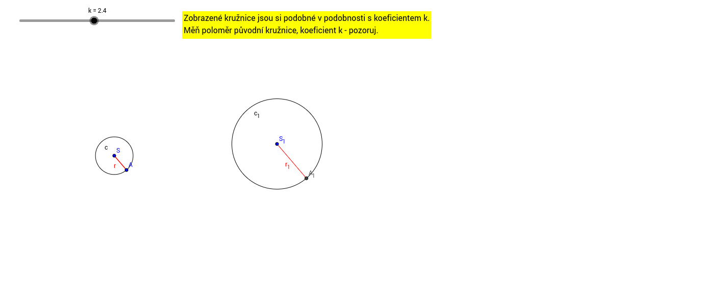 Podobné kružnice