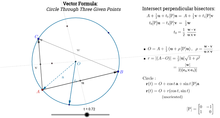 Circle Through Three Points