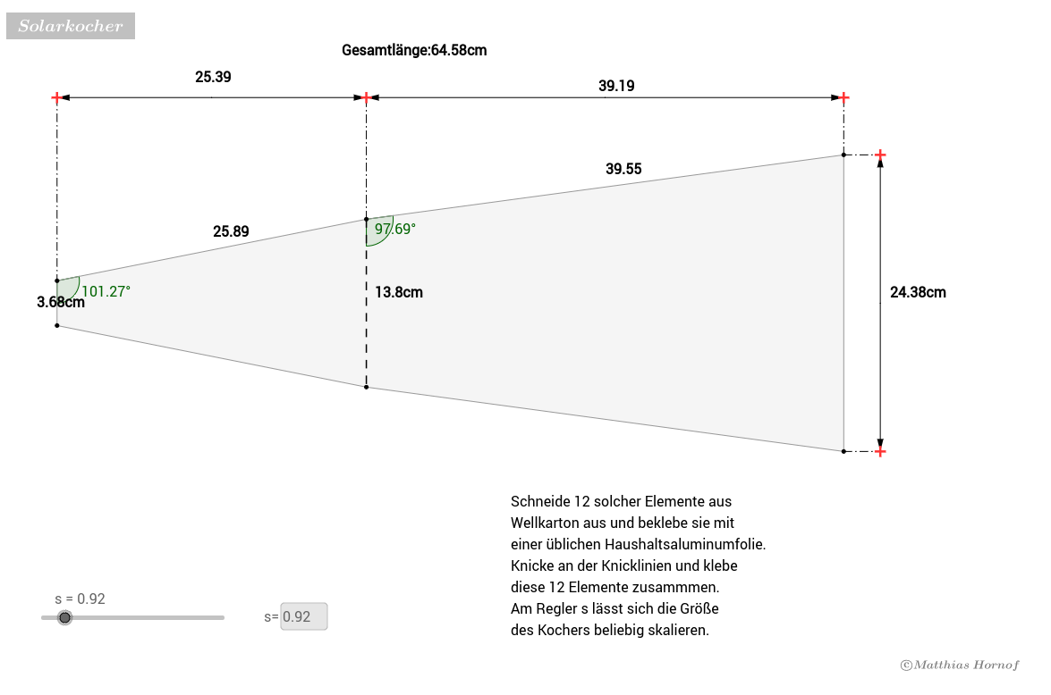 Solarkocher (Bauanleitung)