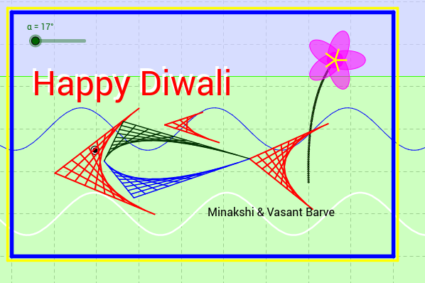 Diwali Greeting by Dr Barve