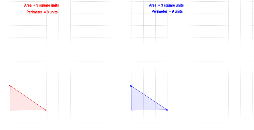 Area and Perimeter of a Triangle