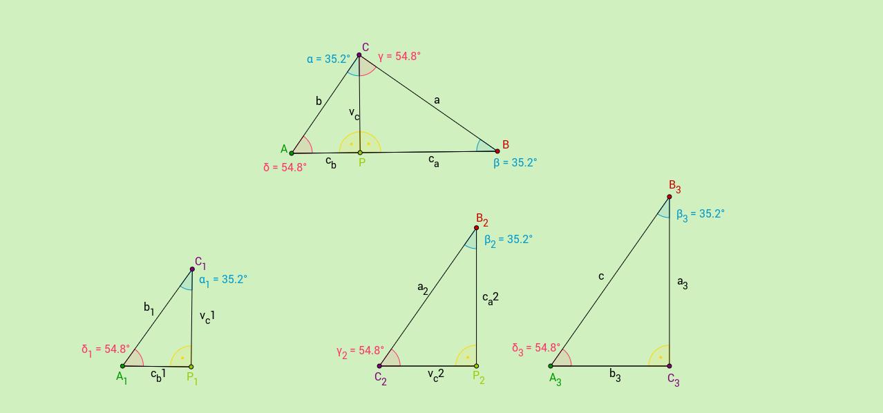 Dôkaz Euklidových viet