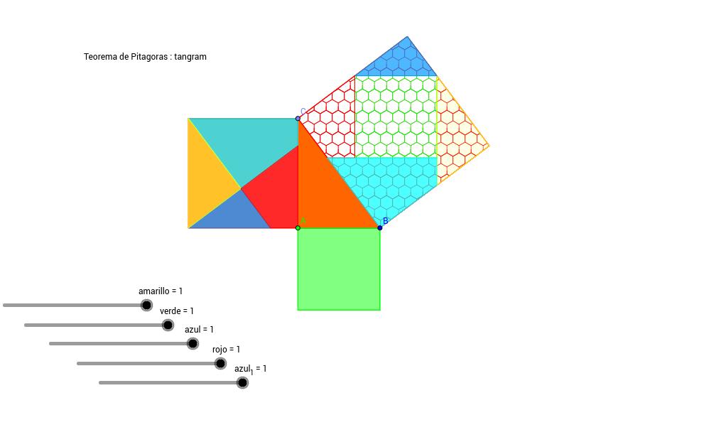 Teorema de Pitagoras : Tangram