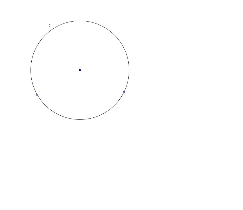 circle and chord