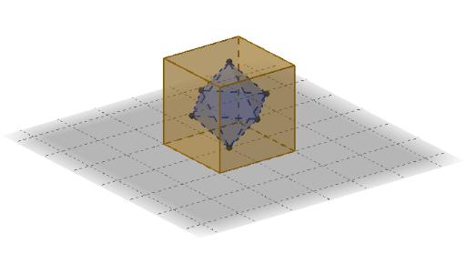Würfel und Oktaeder