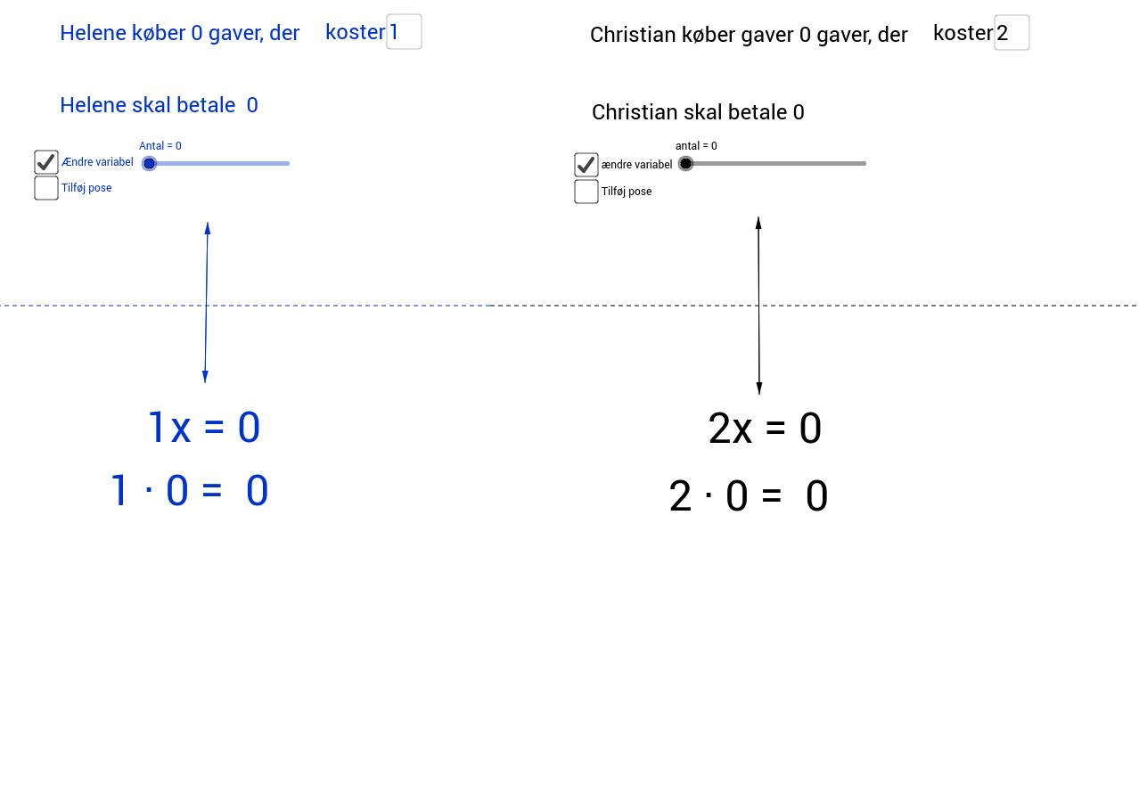 Konversion mellem registre ligninger