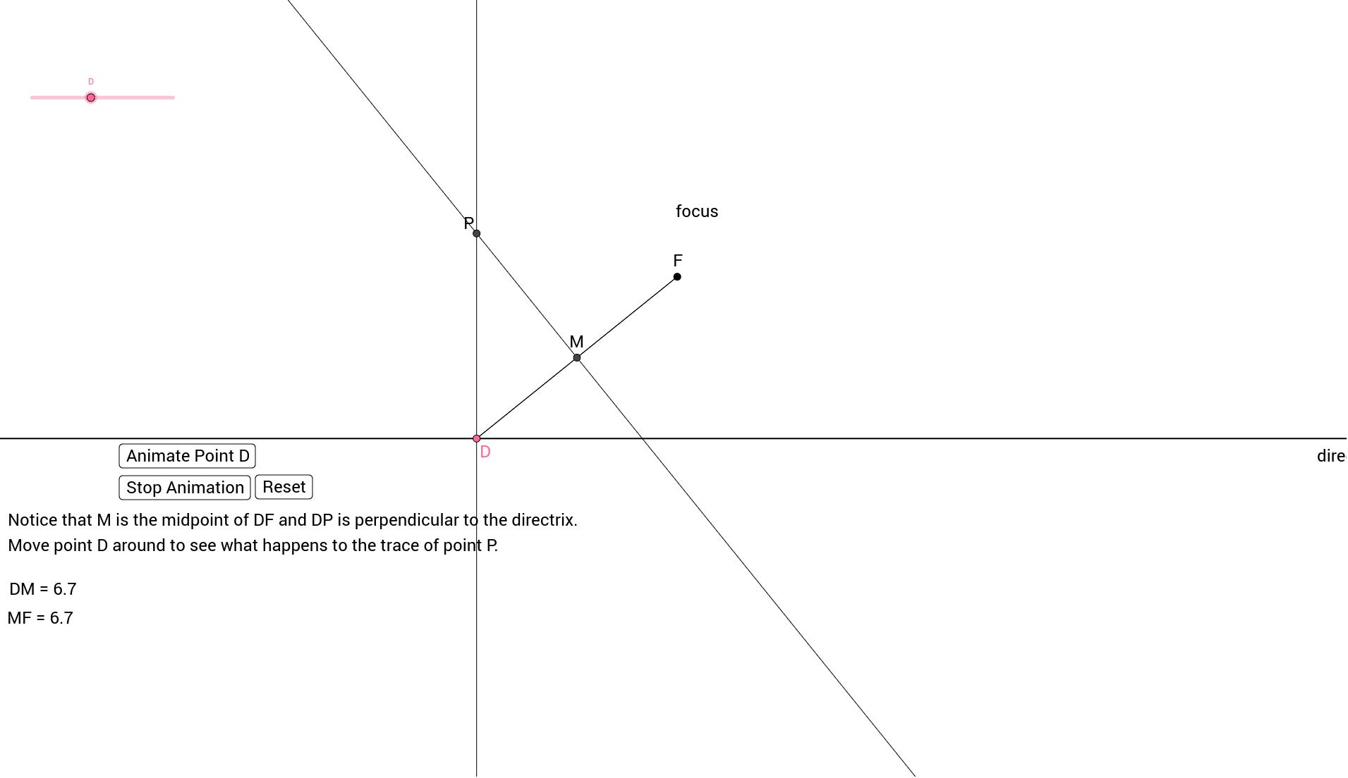Part 1 Dynamic Geogebra File