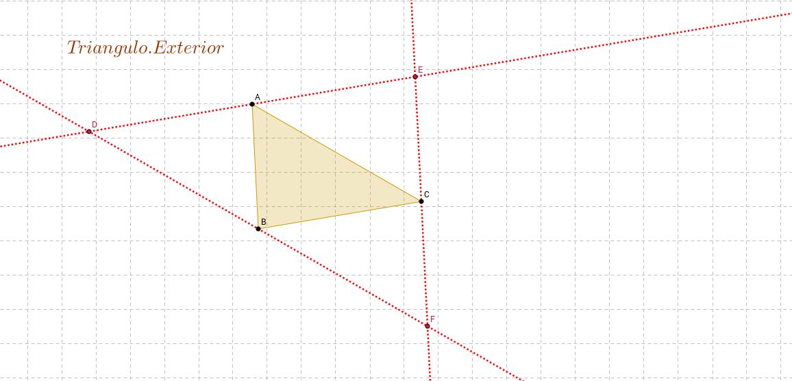 Triángulo Exterior.