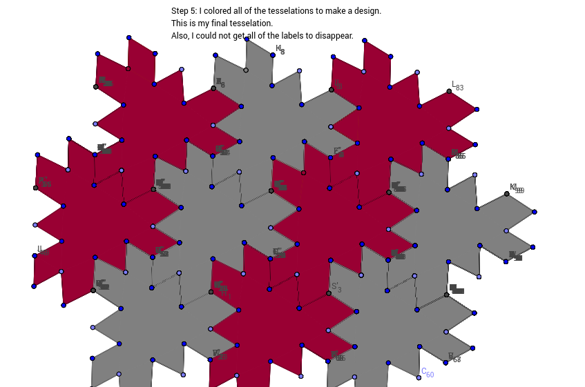 Step 5: Tessellation 1