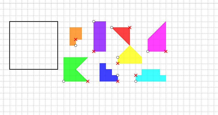 I nostri «tangram» (Michael)