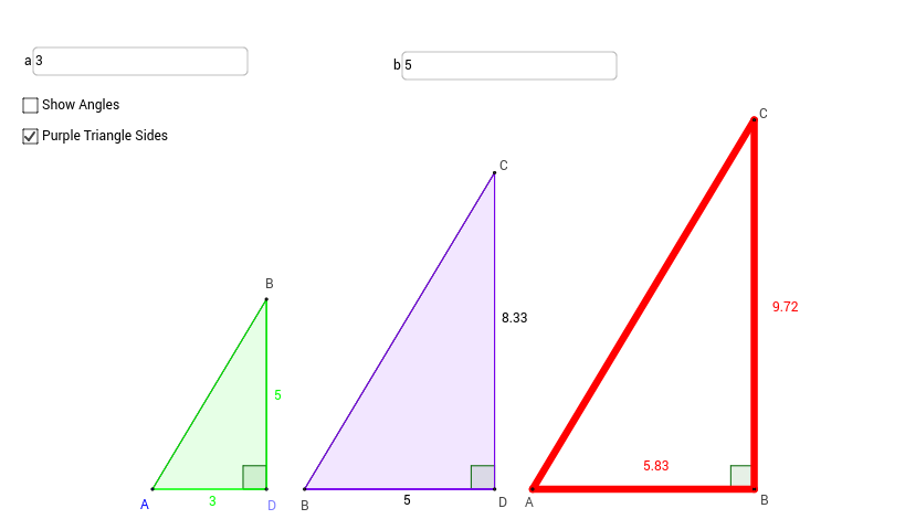 Playing with sine, cosine and tangent