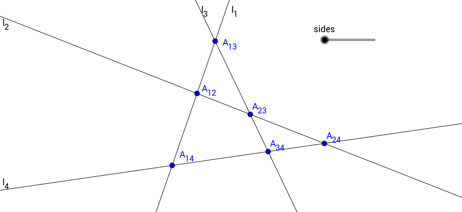 Opposite Sides in a Quadrilateral