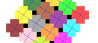 Pythagorean Tessellation # 107 Tiling