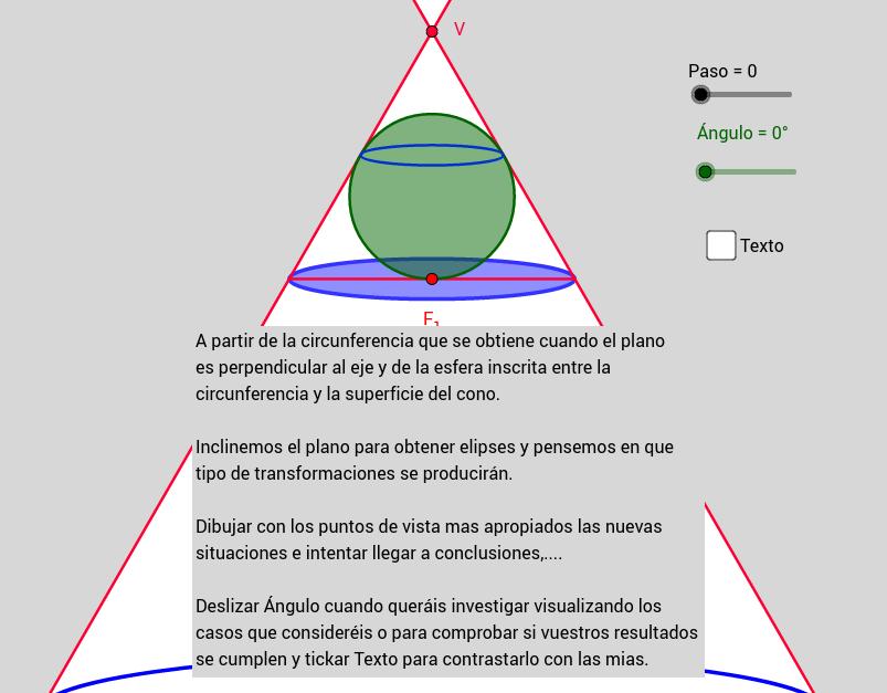 37 La Circunferencia y la Elipse