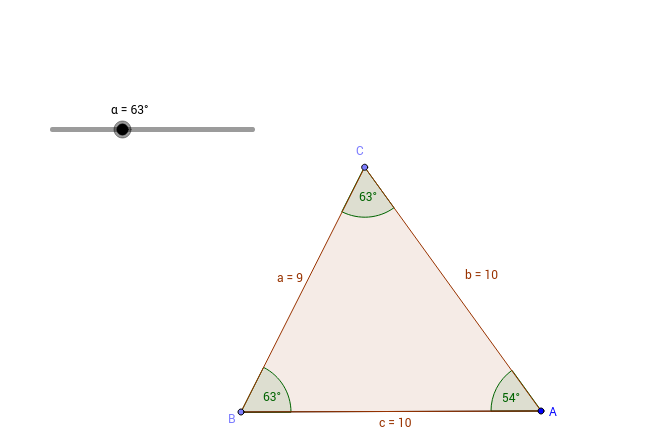 Jugando con triángulos