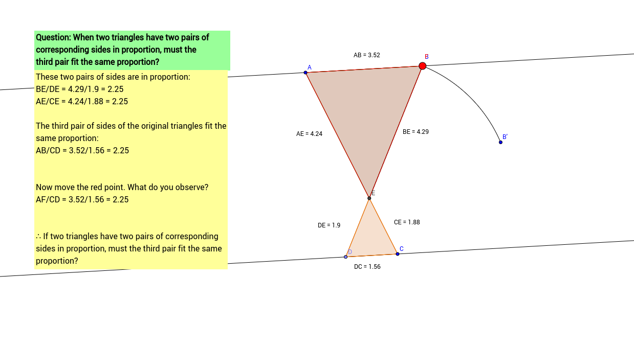 worksheet Proving Triangles Similar Worksheet is side similarity enough to prove similar triangles view worksheet