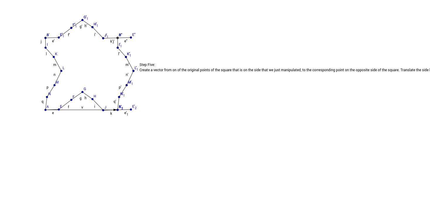 Translation Tessellation Step 5