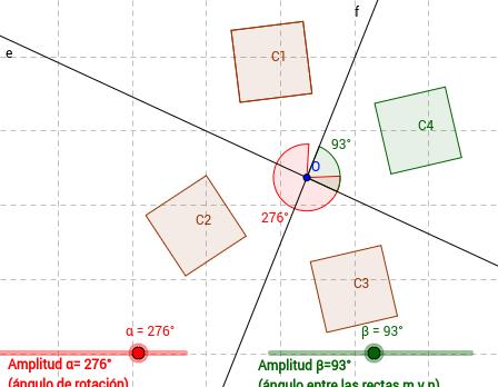 Composición de dos s.axiales de ejes secantes